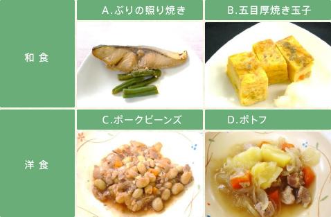 和食・洋食イメージ